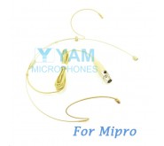 YAM Beige HM1-C4M Headset Microphone For Mipro Wireless Mirophone