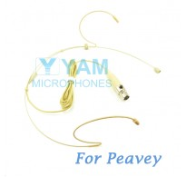 YAM Beige HM1-C4Q Headset Microphone For Peavey Wireless Mirophone