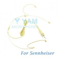 YAM Beige HM1-C4SE Headset Microphone For Sennheiser Wireless Microphone