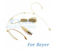 YAM Beige HM3-C4BE Headset Microphone For Beyer Wireless Microphone