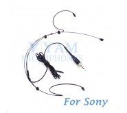 YAM Black HM3-C4W Headset Microphone For  SONY Wireless Mirophones