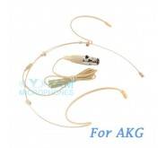 YAM Beige HM5-C3A Headset Microphone For AKG Wireless Microphone