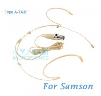 YAM Beige HM5-C3N Headset Microphone For SAMSON Wireless Microphone