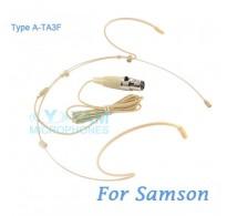 YAM Beige HM5-C3N Headset Microphone For SAMSON Wireless Microphone