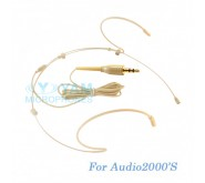 YAM Beige HM5-C4AU Headset Microphone For Audio2000S Wireless Microphone
