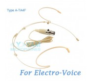 YAM Beige HM5-C4AV Headset Microphone For Electro-Voice Wireless Microphone