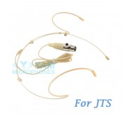YAM Beige HM5-C4J Headset Microphone For JTS Wireless Microphone