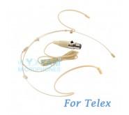 YAM Beige HM5-C4TE Headset Microphone For Telex Wireless Microphone
