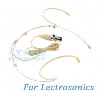 YAM Beige HM5-C5L Headset Microphone For Lectrosonics Wireless Microphone