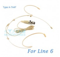 YAM Beige HM5-C6K Headset Microphone For Line 6 Wireless Microphone
