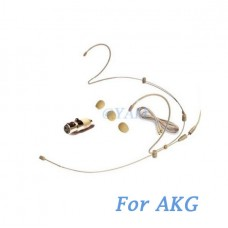 YAM Beige HM6-C3A Earset Microphone For AKG Wireless Microphone