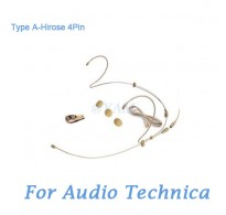 YAM Beige HM6-C4AT Earset Microphone For Audio Technica Wireless Microphone