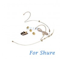 YAM Beige HM6-C4S Earset Microphone For SHURE Wireless Microphone