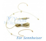 YAM Beige HM3-C4SE Headset Microphone For Sennheiser Wireless Microphone