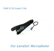 YAM LC30 Microphone Lapel Tie Clip For Sennheiser ME2 Lavalier Mic