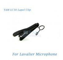 YAM LC30 Microphone Lapel Tie Clip For Sennheiser ME2 Lavalier Mic