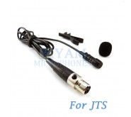 YAM Black LM1-C4J Lavalier Microphone For JTS Wireless Microphone
