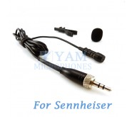 YAM Black LM1-C4SE Lavalier Microphone For Sennheiser Wireless Microphone