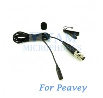 YAM Black LM3-C4Q Lavalier Microphone For Peavey Wireless Mirophone