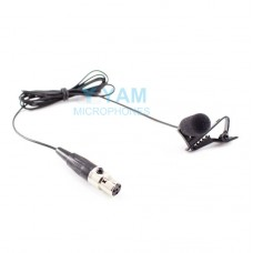 YAM Black LM5-C4AV Lavalier Microphone For Electro-Voice Wireless Microphone