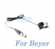 YAM Black LM5-C4BE Lavalier Microphone For Beyer Wireless Microphone