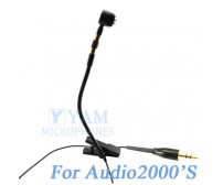 YAM Black Y608-C4AU Instrument Microphone For Audio2000S Wireless Microphone