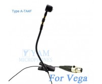 YAM Black Y608-C4J Instrument Microphone For JTS Wireless Microphone
