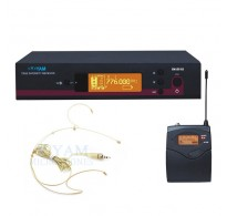 YAM EM100 G3 Headset Wireless Microphone System