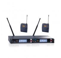 YAM EM2000 Dual Lavalier Wireless Microphone System