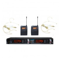 YAM EM5000 Dual Headset Wireless Microphone System