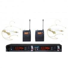 YAM EM5000 Dual Headset Wireless Microphone System