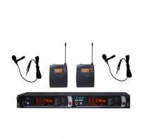 YAM EM5000 Dual Lavalier Wireless Microphone System