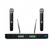 YAM WM2000 Dual Handheld Wireless Microphone System