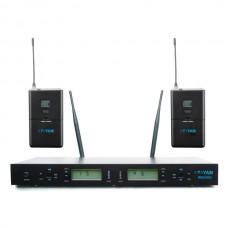 YAM WM2000 Dual Headset Wireless Microphone System