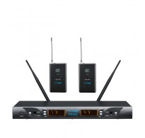 YAM WM4000 Dual Lavalier Wireless Microphone System