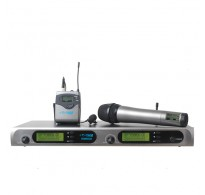 YAM WM6000 Dual Lavalier Wireless Microphone System