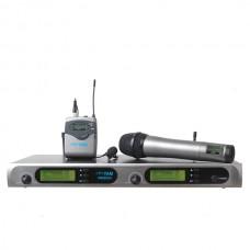 YAM WM6000 Dual Headset Wireless Microphone System